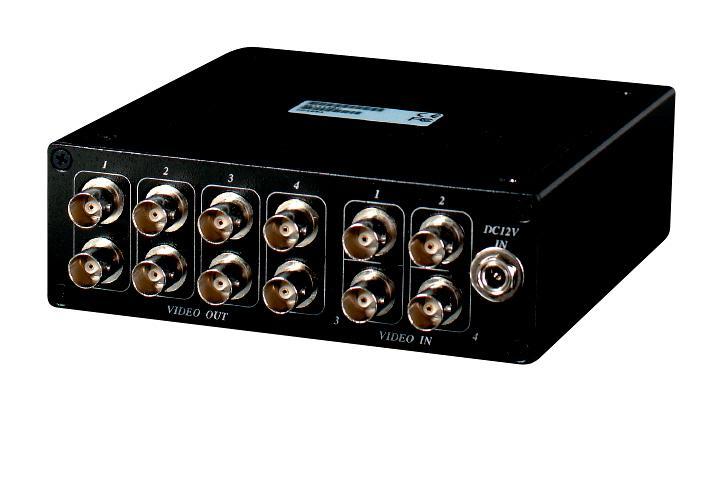 4 Input to 8 Output Video Distributor