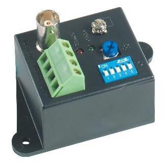 1 Channel Video Transceiver - Active Receiver (power adapter included)