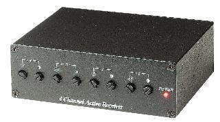 4 Channel Video Transceiver - Active Receiver (power adapter included)